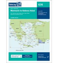 Seekarten Türkei und Naher Osten Imray Seekarte G36, Marmaris to Kekova Adasi 1:200.000 Imray, Laurie, Norie & Wilson Ltd.
