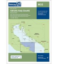 Seekarten Italien Imray Seekarte M32 - Adriatic Italy (South) 1:325.000 Imray, Laurie, Norie & Wilson Ltd.