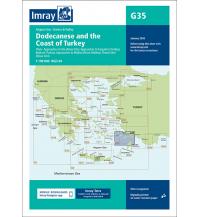 Seekarten Türkei und Naher Osten Imray Seekarte Griechenland - G35 Dodecanese and the Coast of Turkey 1:190.000 Imray, Laurie, Norie & Wilson Ltd.