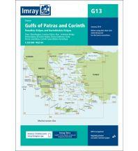 Seekarten Griechenland Imray Seekarte Griechenland - G13 Gulfs of Patras and Corinth 1:220.000 Imray, Laurie, Norie & Wilson Ltd.