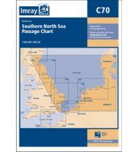 Seekarten Niederlande und Belgien Imray Seekarte C70, Southern North Sea Passage Chart 1:900.000 Imray, Laurie, Norie & Wilson Ltd.