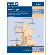 Seekarten Imray Seekarte C63 - Firth of Clyde 1:160.000 Imray, Laurie, Norie & Wilson Ltd.