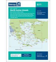 Seekarten Griechenland Imray Seekarte Griechenland G11, North Ionian Islands - Nísos Kérkira to Nísos Levkas 1:185.000 Imray, Laurie, Norie & Wilson Ltd.