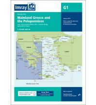 Seekarten Griechenland Imray Seekarte Griechenland G1, Mainland Greece and the Peloponnisos 1:729.000 Imray, Laurie, Norie & Wilson Ltd.