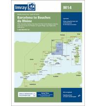 Imray Seekarten Spanien und Portugal Imray Seekarte M14 - Barcelona to Bouches du Rhône 1:440.000 Imray, Laurie, Norie & Wilson Ltd.