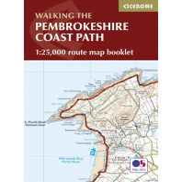 Wanderführer Cicerone Map Booklet Wales - Walking the Pembrokeshire Coast Path 1:25.000 Cicerone Press