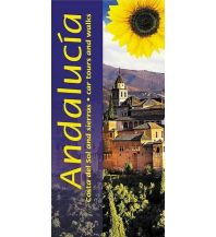 Wanderführer Sunflower Landscapes Spanien - Andalucia, Costa del Sol and Sierras - car tours and walks Sunflower Books