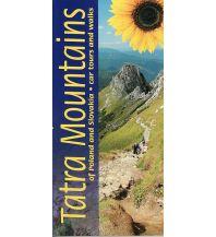 Wanderführer Sunflower Landscapes Slowakei - Tatra mountains of Poland and Slovakia - car tours and walks Sunflower Books