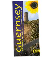 Wanderführer Sunflower Landscapes Guernsey with Alderney, Sark and Herm - car tuors and walks Sunflower Books
