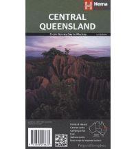Straßenkarten Australien - Ozeanien Hema Maps Central Queensland 1:220.000 Hema Maps
