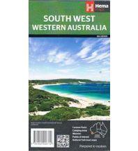 Straßenkarten Australien - Ozeanien Hema Maps - South West Western Australia (Südwesten Westen Australien) 1:700.000 Hema Maps