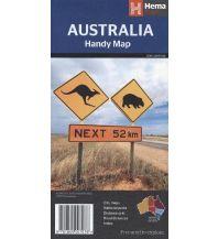 Straßenkarten Australia Handy Map 1:6.500.000 Hema Maps