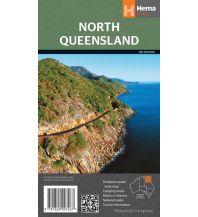 Straßenkarten Australien - Ozeanien Hema Maps Straßenkarte North Queensland 1:550.000 Hema Maps