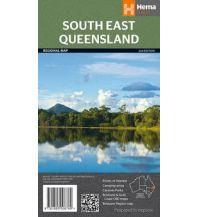 Straßenkarten Australien - Ozeanien Hema Maps Straßenkarte South East Queensland 1:500.000 Hema Maps