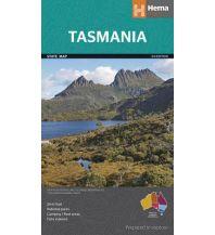 Straßenkarten Australien - Ozeanien Hema State Map Straßenkarte - Tasmania Tasmanien 1:480.000 Hema Maps