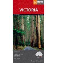 Straßenkarten Australien - Ozeanien Hema Handy Maps - Victoria 1:850.000 Hema Maps