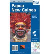 Straßenkarten Australien - Ozeanien Hema Maps Landkarte Papua New Guinea  1:2.167.000 Hema Maps