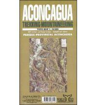 Wanderkarten Südamerika Trekking & Mountaineering Map Aconcagua 1:50.000 Zagier y Urruty Publicaciones