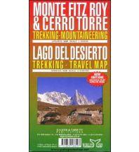 Wanderkarten Südamerika Trekking Map Monte Fitz Roy & Cerro Torre, Lago del Desierto 1:100.000/1:50.000 Zagier y Urruty Publicaciones