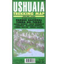 Wanderkarten Zagier Urruty Trekking Map Argentinien - Ushuaia 1:50.000 Zagier y Urruty Publicaciones