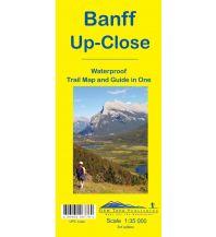 Wanderkarten Nord- und Mittelamerika Gem Trek Trail Map 11 Kanada - Banff Up-Close 1:35.000 Gem Trek Publishing