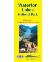 Wanderkarten Nord- und Mittelamerika Gem Trek Map 15, Waterton Lakes National Park 1:50.000 Gem Trek Publishing