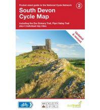 Radkarten Sustrans Cycle Map 2, South Devon 1:110.000 Sustrans