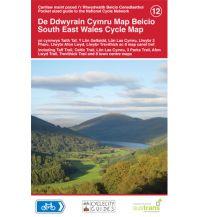 Radkarten Cycle Map 12 Großbritannien - South East Wales 1:110.000 Sustrans