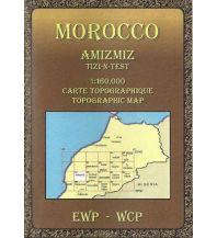 Wanderkarten Marokko Morocco Amizmiz 1:160.000 EWP