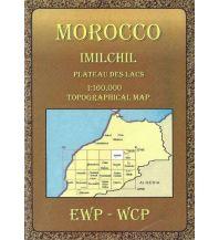 Wanderkarten Marokko Morocco - Imilchil 1:160.000 EWP