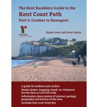 Weitwandern Kent Coast Path, Part 1: Camber to Ramsgate Cordee Publishing