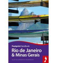 Reiseführer Footprint Handbook Rio de Janeiro and Minas Gerais Footprint Handbooks