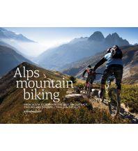 Mountainbike-Touren - Mountainbikekarten Alps Mountain Biking from Aosta to Zermatt Vertebrate