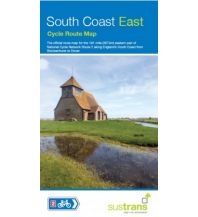 Radkarten Sustrans Cycle Route Map South Coast East Sustrans