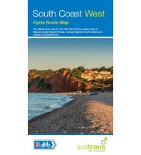 Radkarten Sustrans Cycle Route Map South Coast West Sustrans