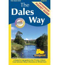 Wanderkarten Footprint Guide and Map Großbritannien - The Dales Way Footprint Handbooks