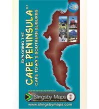 Straßenkarten Südafrika Slingsby Touring Map Südafrika - Exploring the Cape Peninsula 1:50.000 Slingsby