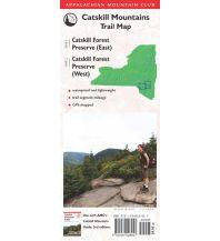 Wanderkarten USA AMC Catskill Mountains Trail Map Appalachian Mountain Club Books
