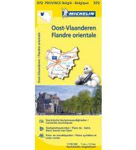 Straßenkarten Belgien Michelin Frankreich Straßenkarte 372, Flandern Ost 1:150.000 Michelin france