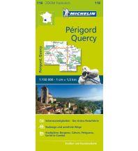Straßenkarten Frankreich Michelin Périgord, Quercy Michelin