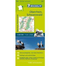 Straßenkarten Michelin Oberrhein, Schwarzwald Michelin