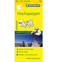 Straßenkarten Frankreich Michelin Straßenkarte Local 328 Frankreich, Hochsavoyen 1:150.000 Michelin