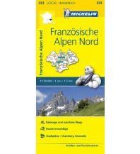 Straßenkarten Frankreich Michelin Straßenkarte Local 333 Frankreich, Französische Alpen Nord 1:150.000 Michelin