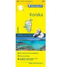 Straßenkarten Frankreich Michelin Straßenkarte Local 345 Frankreich, Korsika 1:150.000 Michelin