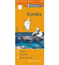 Straßenkarten Frankreich Michelin Straßenkarte Regional 528 Frankreich, Korsika 1:200.000 Michelin