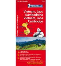 Straßenkarten Michelin Vietnam, Laos, Kambodscha Michelin