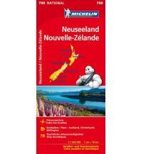 Straßenkarten Michelin Neuseeland Michelin