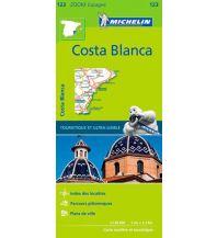 Straßenkarten Spanien Michelin Straßenkarte Zoom 123 Spanien, Costa Blanca 1:130.000 Michelin