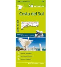 Straßenkarten Spanien Michelin Straßenkarte Zoom 124 Spanien, Costa del Sol 1:200.000 Michelin