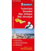 Straßenkarten Slowakei Michelin Tschechien - Slowakei Michelin